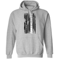 Fort Worth Texas American Flag Pullover Hoodie
