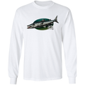Great Barracuda Saltwater Fish Long Sleeve T-Shirt