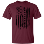 Tennis American Flag T-Shirt