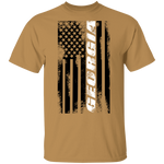 Georgia American Flag T-Shirt