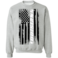 Louisiana American Flag Crewneck Sweatshirt