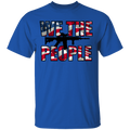 We The People  American Flag T-Shirt