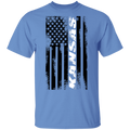 Kansas American Flag T-Shirt