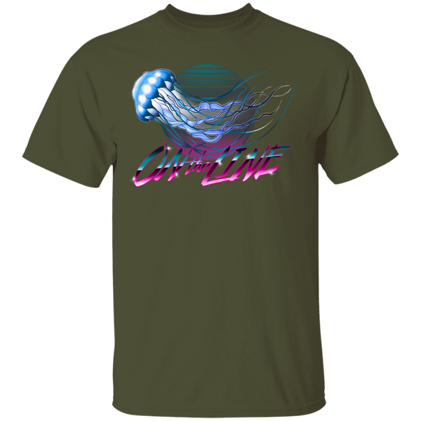 Jellyfish Sea Jellies On The Line Saltwater T-Shirt