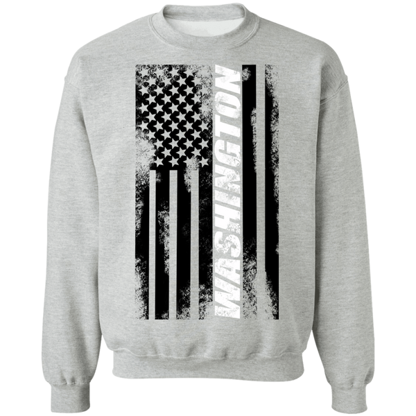 Washington American Flag Crewneck Sweatshirt