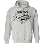 Yellowfin Tuna Saltwater Fish Pullover Hoodie