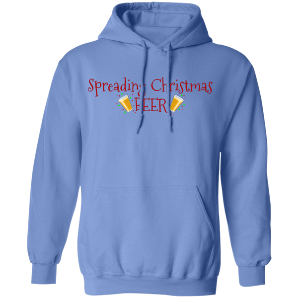 Spreading Christmas Beer Funny Ugly Christmas Pullover Hoodie