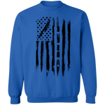 Chef Cook Culinary American Flag Crewneck Sweatshirt