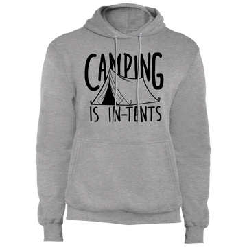 Camping is In-Tents Funny Premium Pullover Hoodie