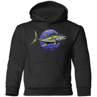 Toddler Yellowfin Tuna Saltwater Fish Pullover Hoodie