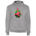Flamingos Hanging Out Pullover Hoodie