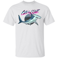 Hammerhead Shark On The Line Saltwater T-Shirt