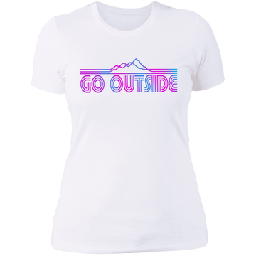 Women's Go Outside Camping Nature T-Shirt