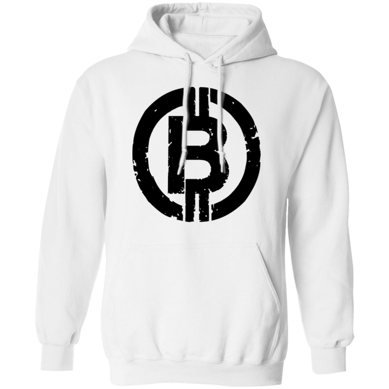 Military Black Bitcoin Hodl Cryptocurrency BTC Pullover Hoodie