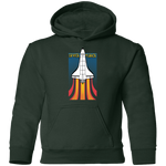 Youth Space Force Retro 80s Pullover Hoodie