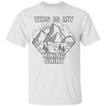 This Is My Hiking Shirt Nature Camping T-Shirt