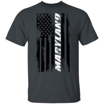 Maryland American Flag T-Shirt