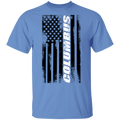 Columbus Ohio American Flag T-Shirt