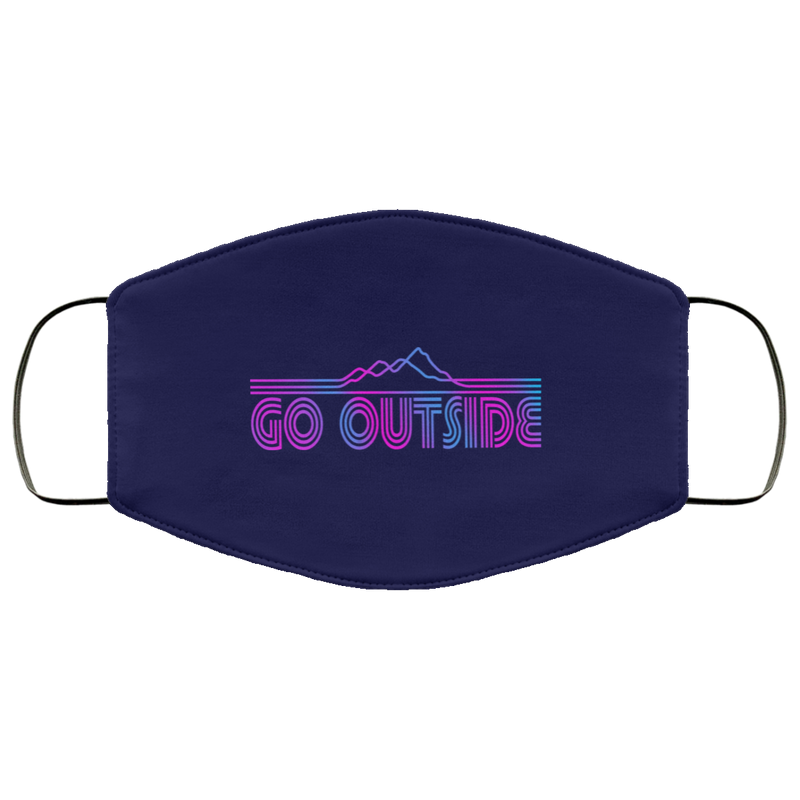 Go Outside Explore Face Mask