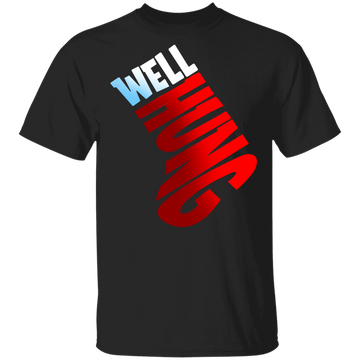 Well Hung Ornament Funny Christmas T-Shirt