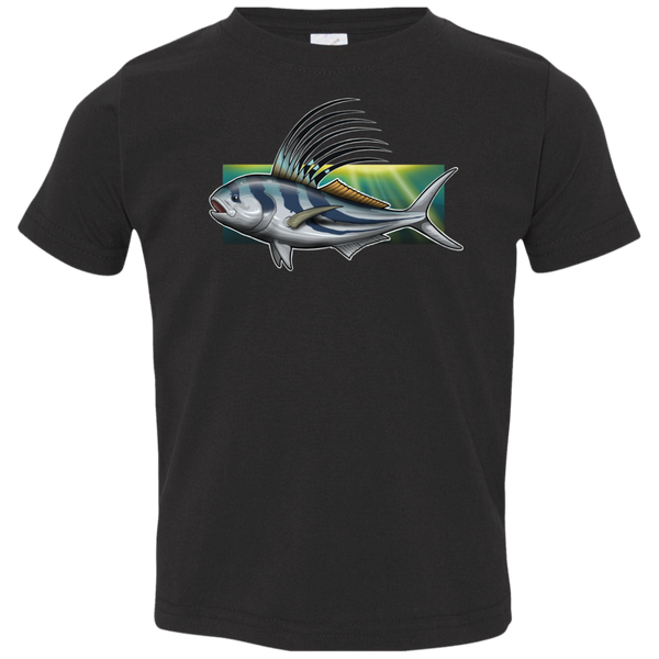Toddler Rooster Saltwater Fish Jersey T-Shirt