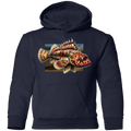 Youth Sculpin Saltwater Fish Pullover Hoodie