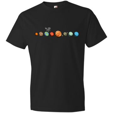 Youth Space Earth You Are Here Lightweight T-Shirt