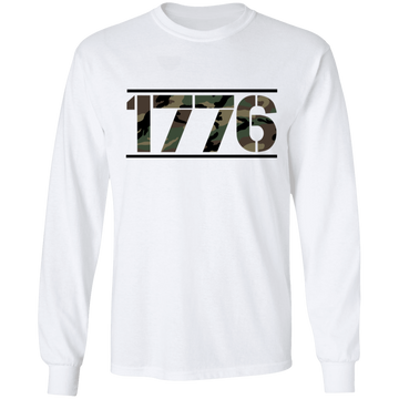 1776 American Camouflage Long Sleeve T-Shirt