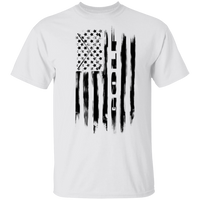 Golf Golfing American Flag T-Shirt