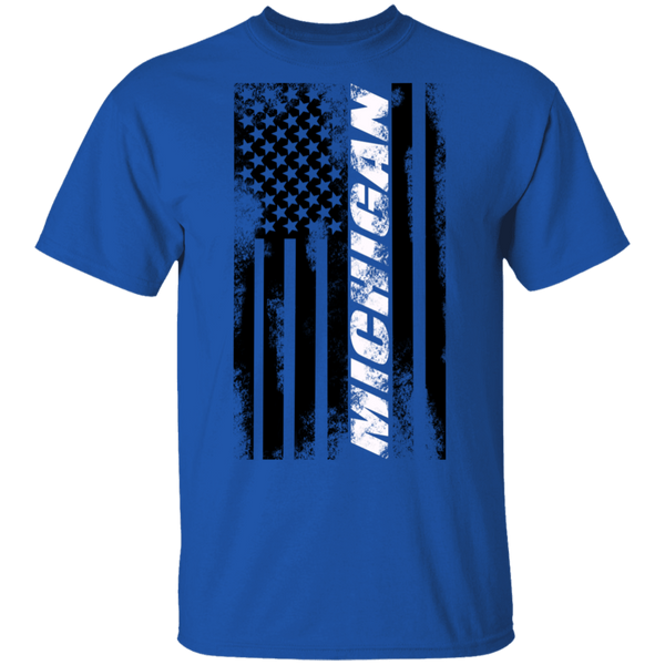 Michigan American Flag T-Shirt