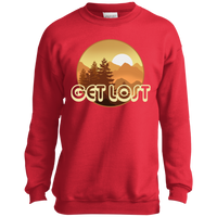 Boys' Get Lost in Nature Camping Crewneck Sweatshirt