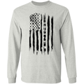 Tennis American Flag Long Sleeve T-Shirt