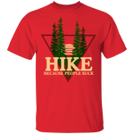 Hike Because People Suck Funny Nature T-Shirt