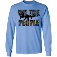 We The People Camouflage Long Sleeve T-Shirt