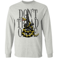 Don't Tread on Me Gadsden Flag Long Sleeve T-Shirt