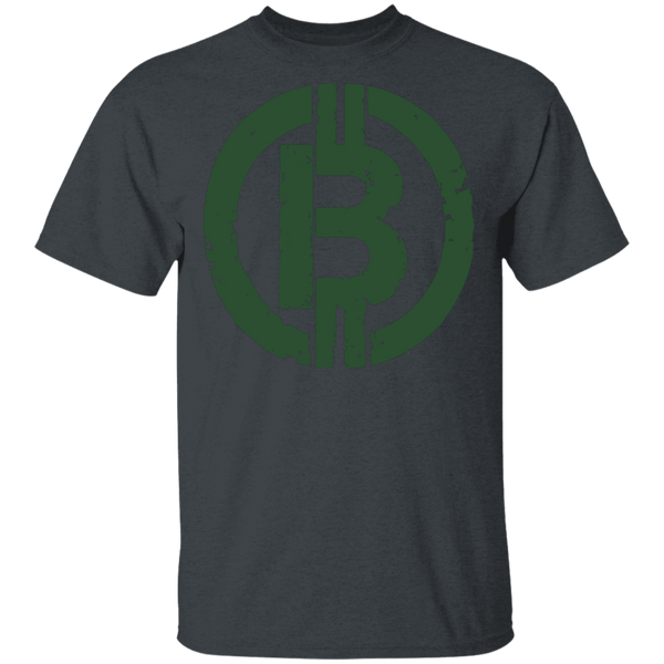 Military Green Bitcoin Hodl Cryptocurrency BTC T-Shirt