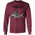 Rooster Saltwater Fish Long Sleeve T-Shirt