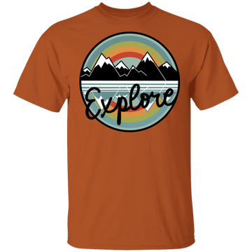 Explore Mountains Nature Camping T-Shirt
