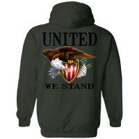 We the People United We StandDouble Sided Pullover Hoodie