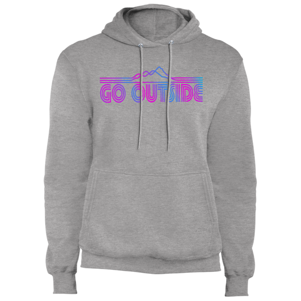 Go Outside Camping Nature Premium Pullover Hoodie
