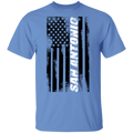 San Antonio Texas American Flag T-Shirt