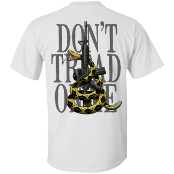 We the People Don't Tread on Me Gadsden Flag Double Sided T-Shirt