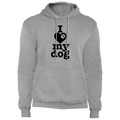 I Love My Dog Pullover Hoodie