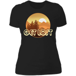 Get Lost in Nature Camping Women's T-Shirt
