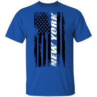 New York New York American Flag T-Shirt
