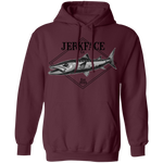 Barracuda Ray-finned Saltwater Fish Pullover Hoodie