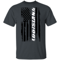 Louisiana American Flag T-Shirt