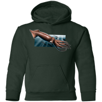 Youth Giant Squid Saltwater Pullover Hoodie