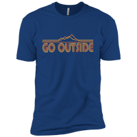 Boys' Go Outside Camping Nature T-Shirt