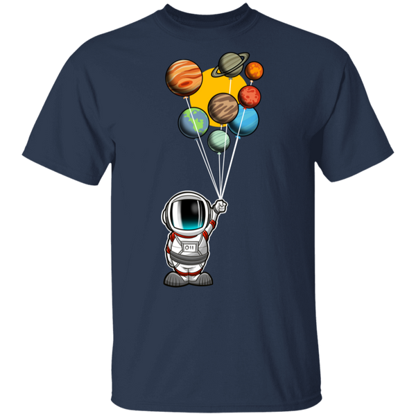 Men's Space Astronaut Balloons Party T-Shirt